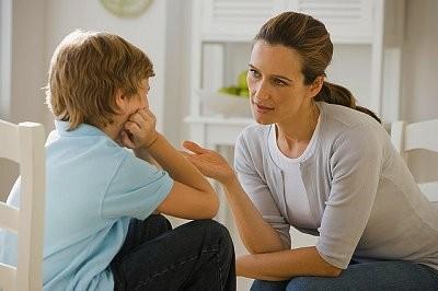 discussieren met kinderen