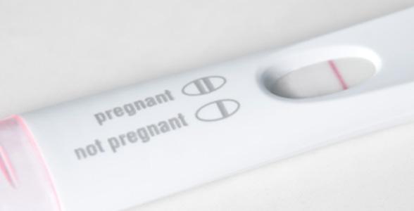 niet zwanger