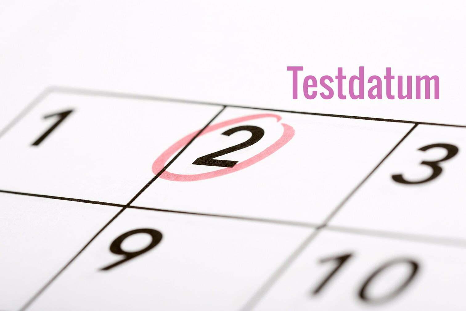 Testdatum na IVF