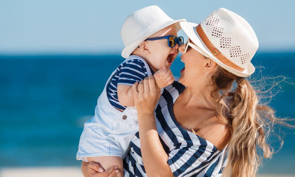 vakantie met je baby