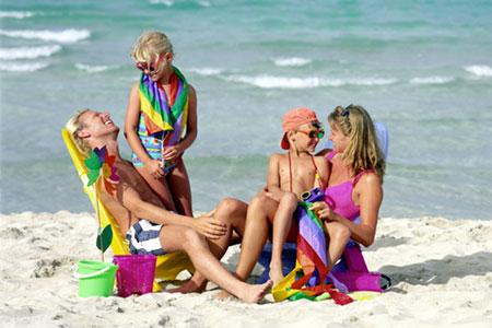 vakantie met gezin