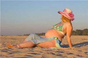 zwanger op vakantie