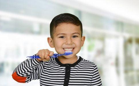 tandenpoetsen melkgebit