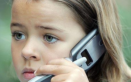 kinderen mobiele telefoons