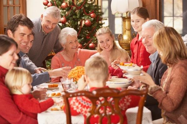 Kerst met schoonfamilie