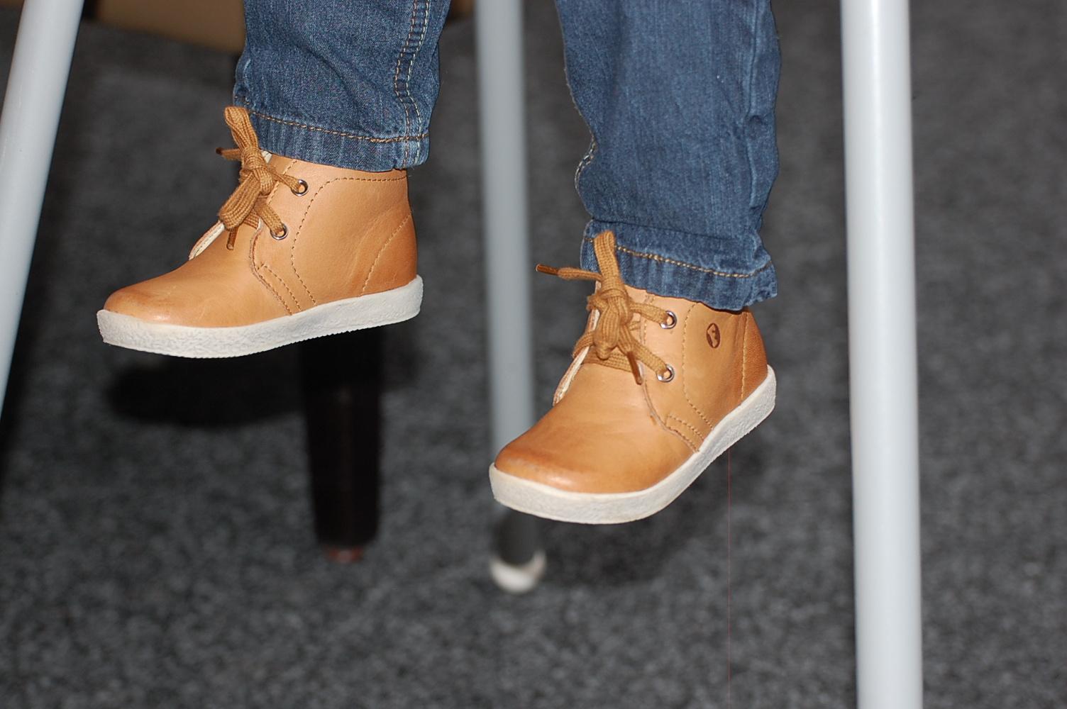 Eerste stapjes schoenen