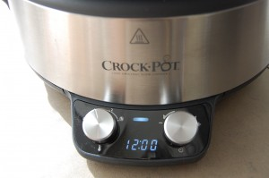 Stel je Crock Pot in op 12 uur