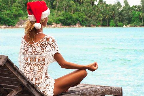 Op vakantie met kerst