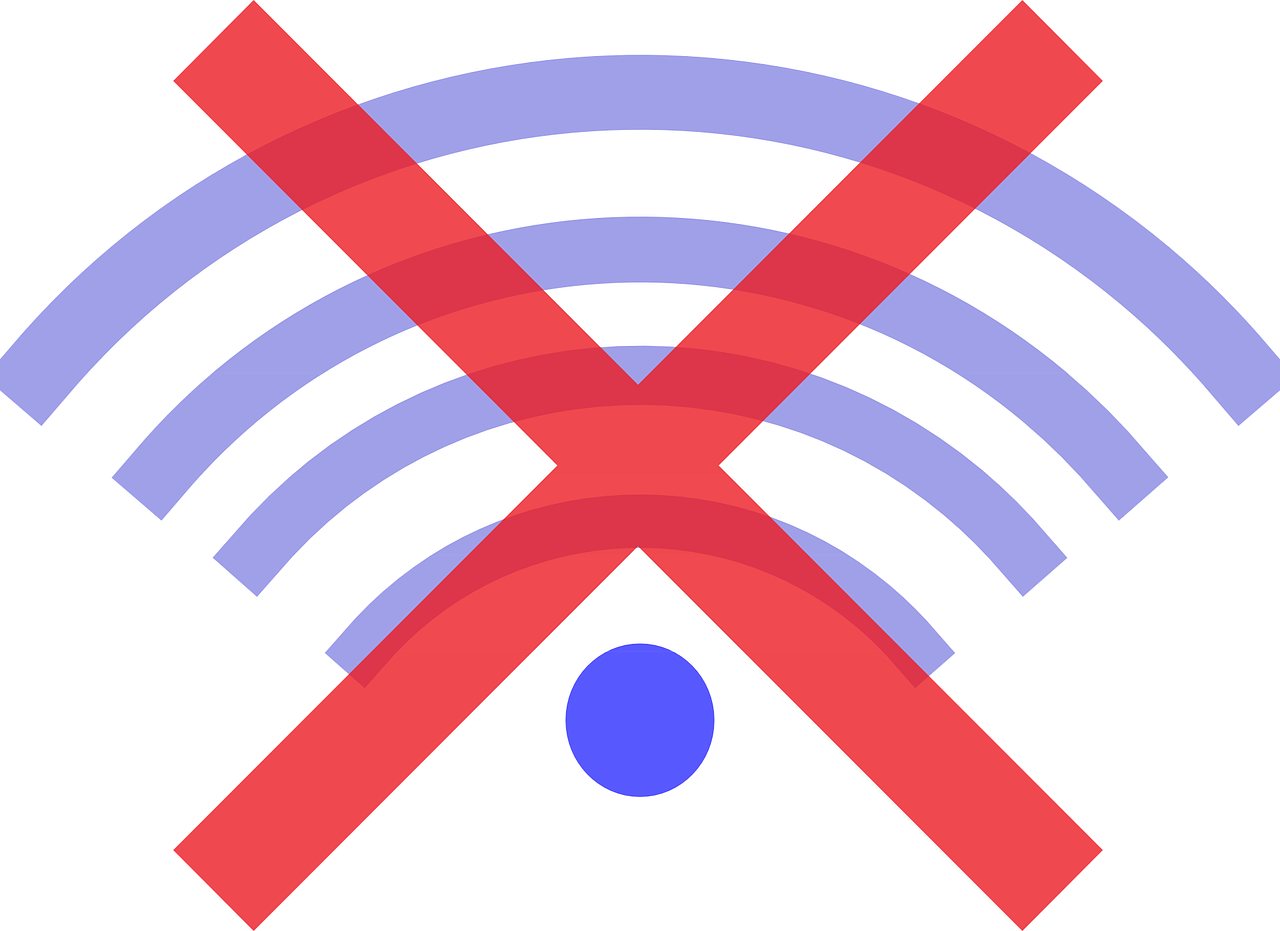 geen wifi