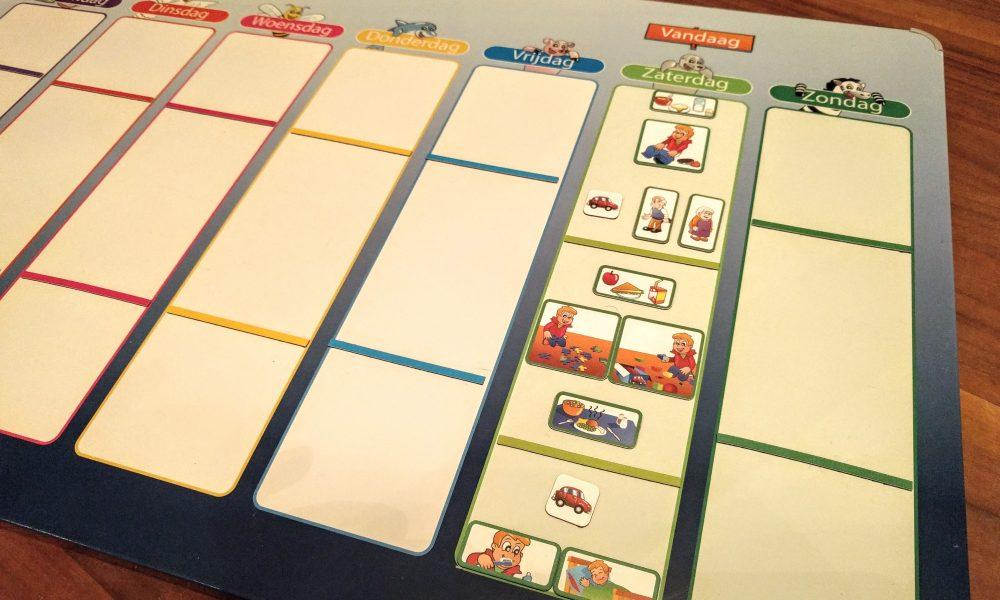 Bekend Planbord en dagritme kaarten, waarom en hoe te gebruiken - Moeders.nu AY78