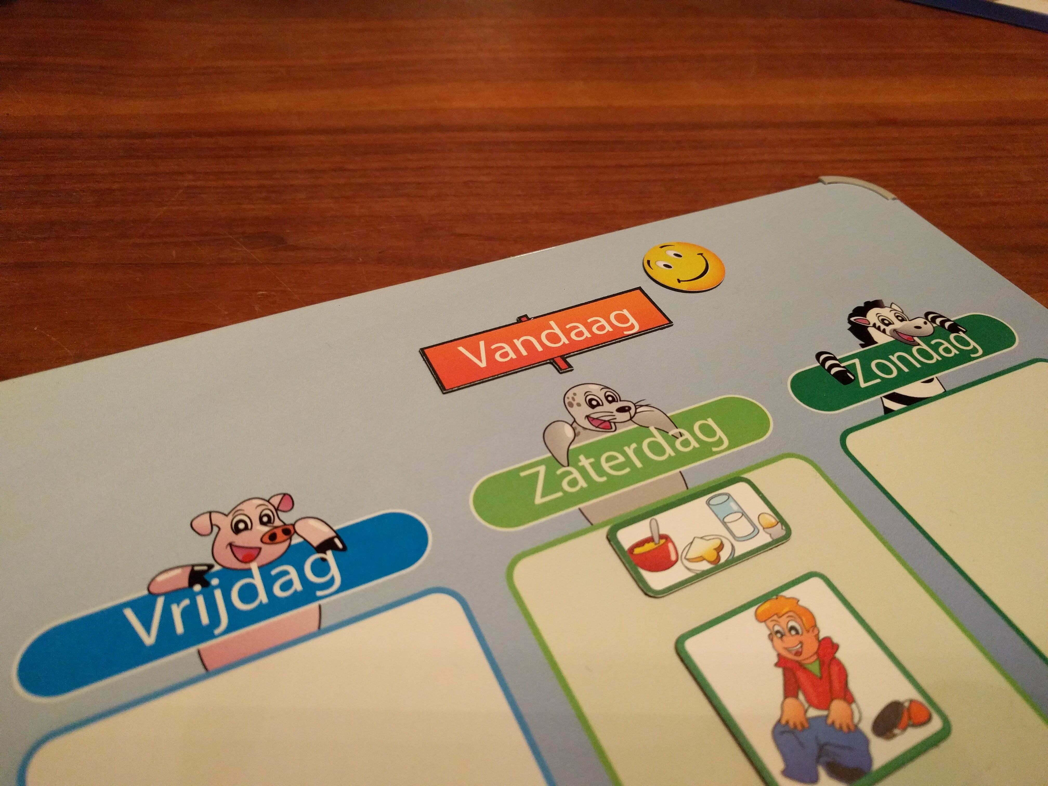 Voorkeur Planbord en dagritme kaarten, waarom en hoe te gebruiken - Moeders.nu IV53