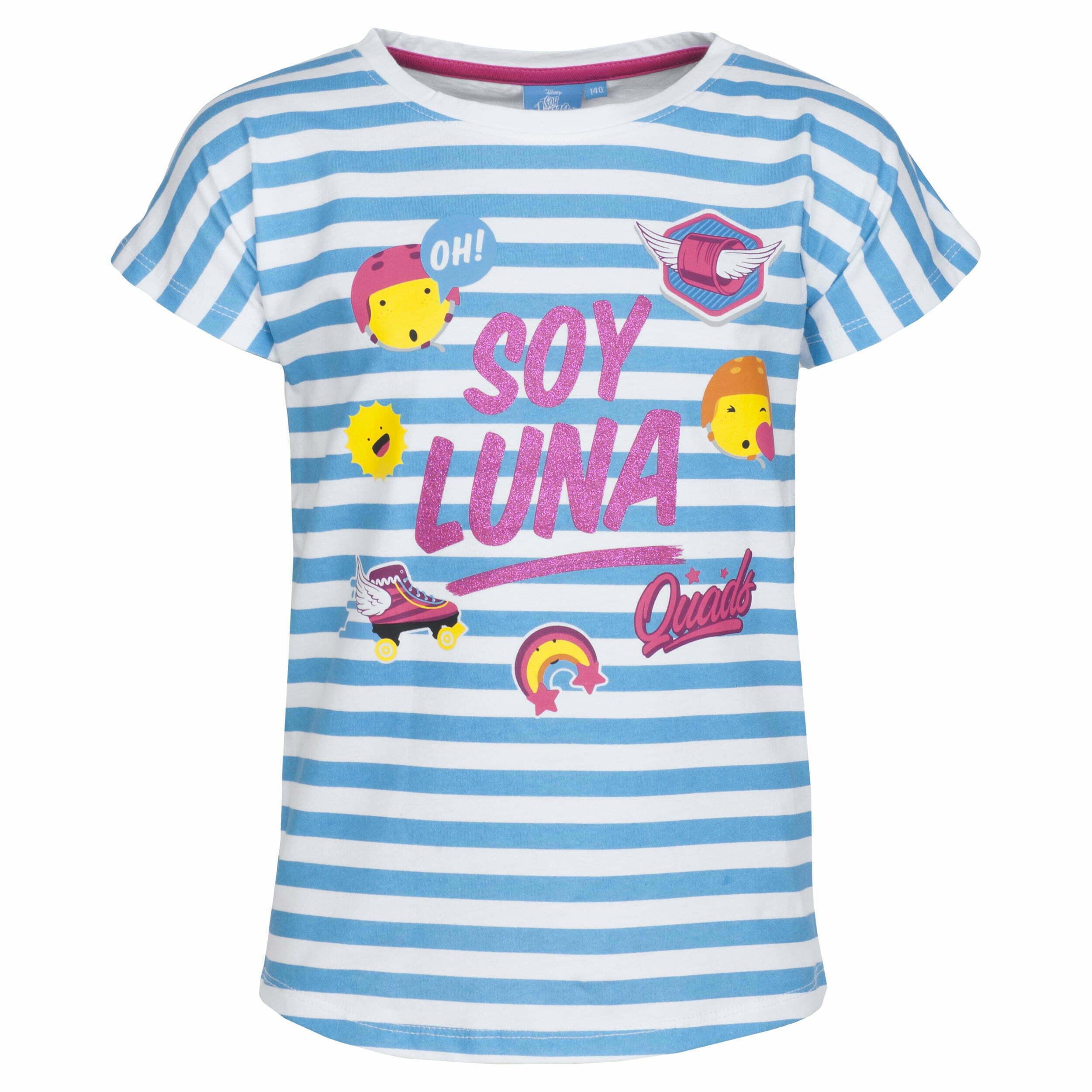 T-shirt Soy Luna - streep