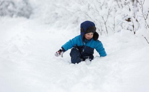 Vakantie in de sneeuw