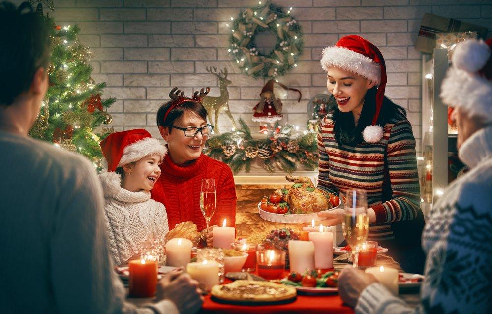 kerst bij schoonouders