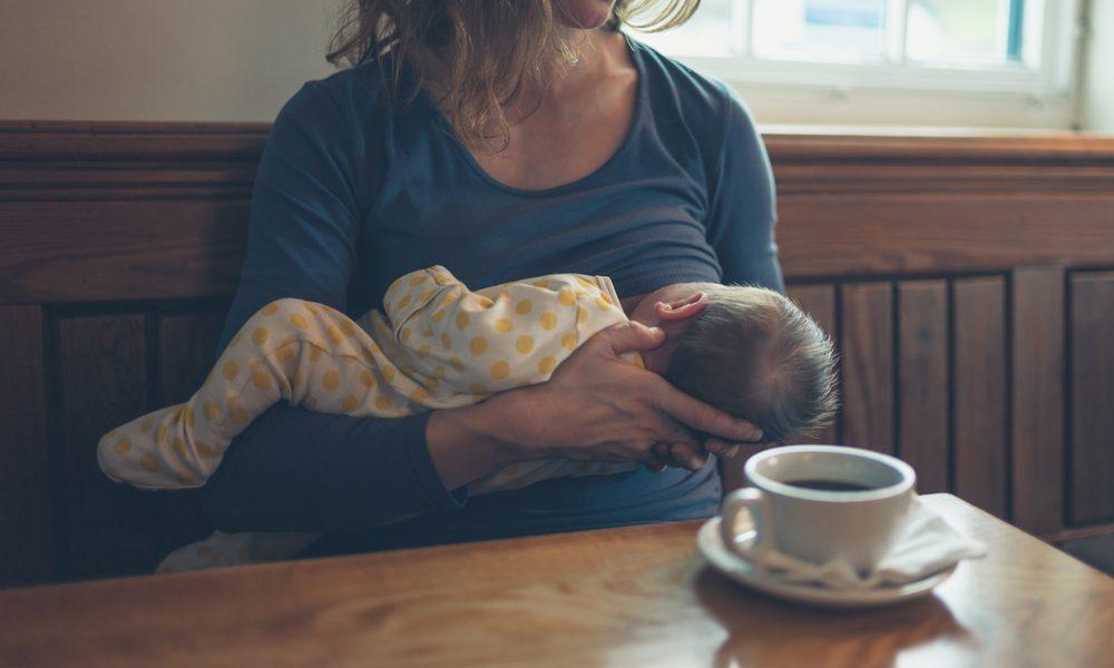 Openbaar borstvoeding geven