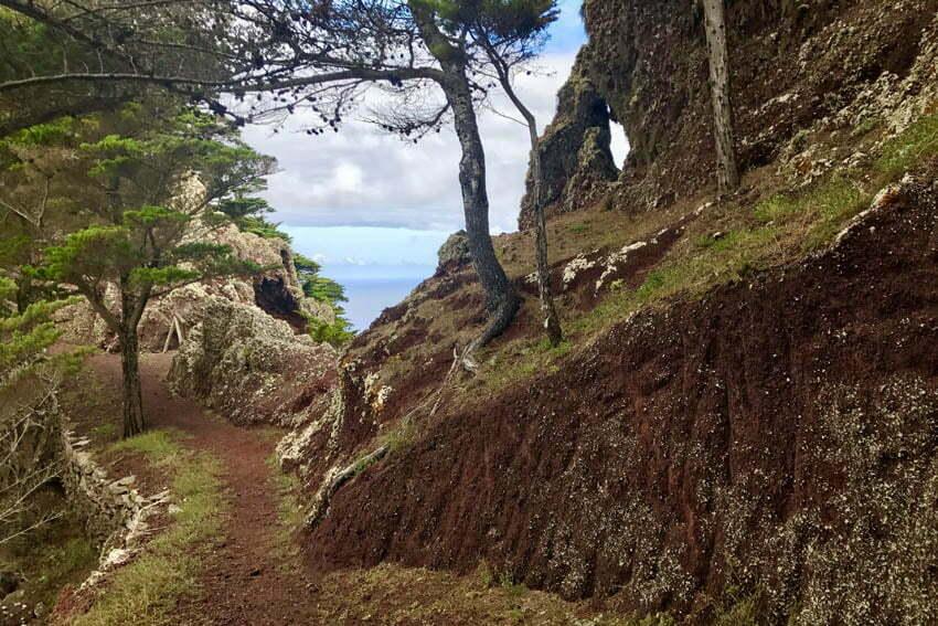 hiking trials Porto Santo