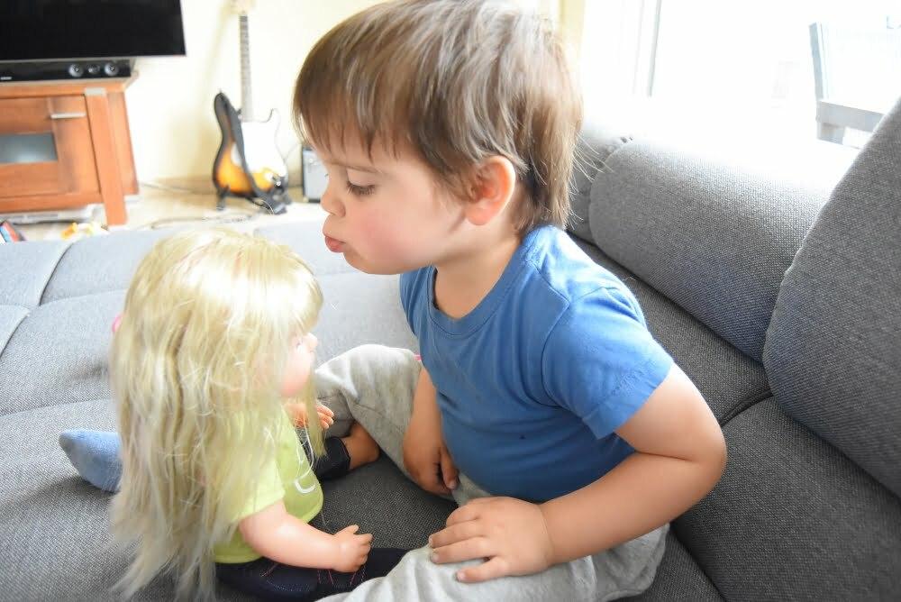 baby born interactief zusje 5