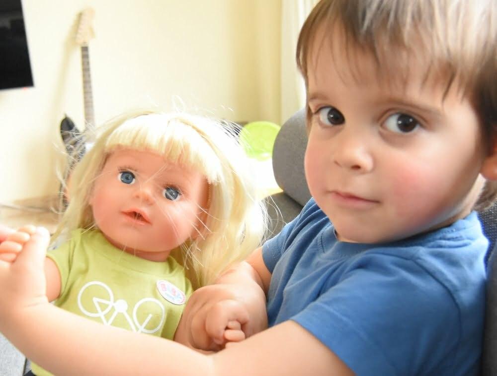 baby born interactief zusje 4