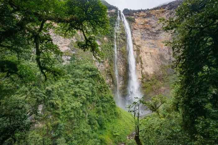 de Gocta waterval