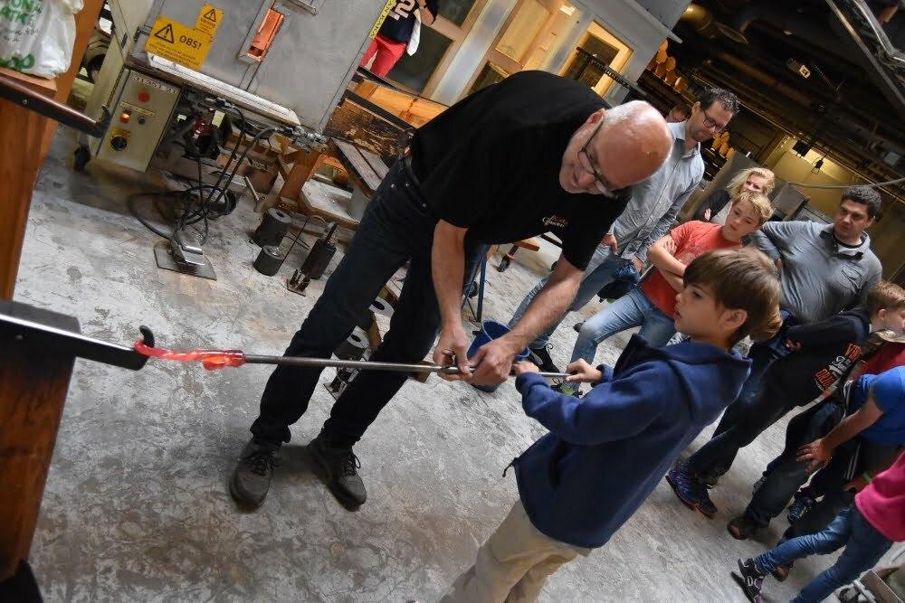 Glasblazerijen Kosta, Boda en Åfors