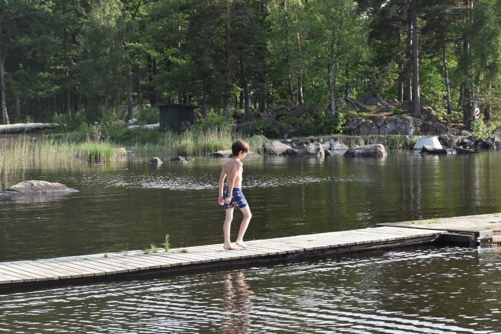 Lake Åsnen Zweden