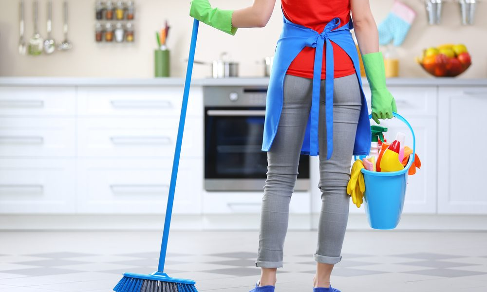 schoonmaakschema