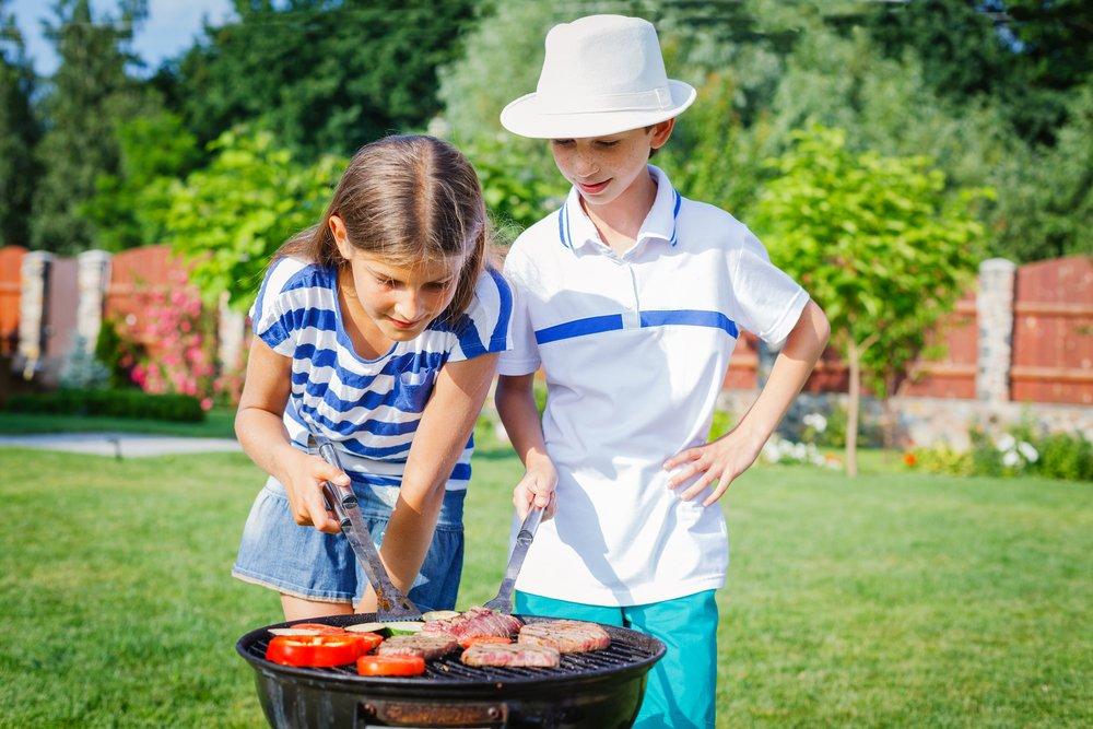 BBQ met kinderen