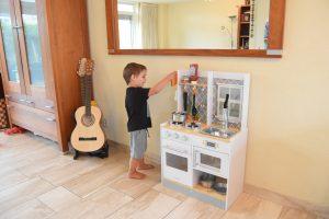 KidKraft Let's Cook houten kinderkeuken