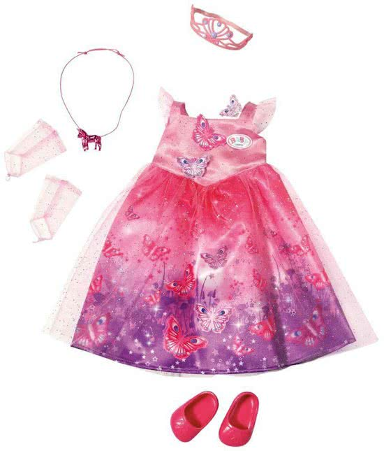 BABY born Wonderland Deluxe Princess - Poppenkleertjes