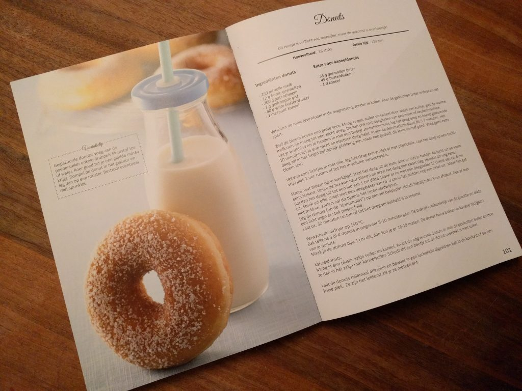 Airfryer donuts
