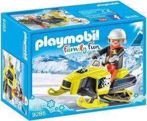playmobil sneeuwscooter