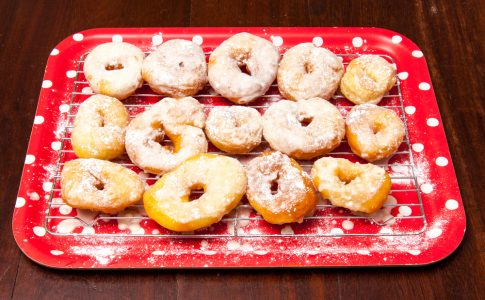 Airfryer donuts