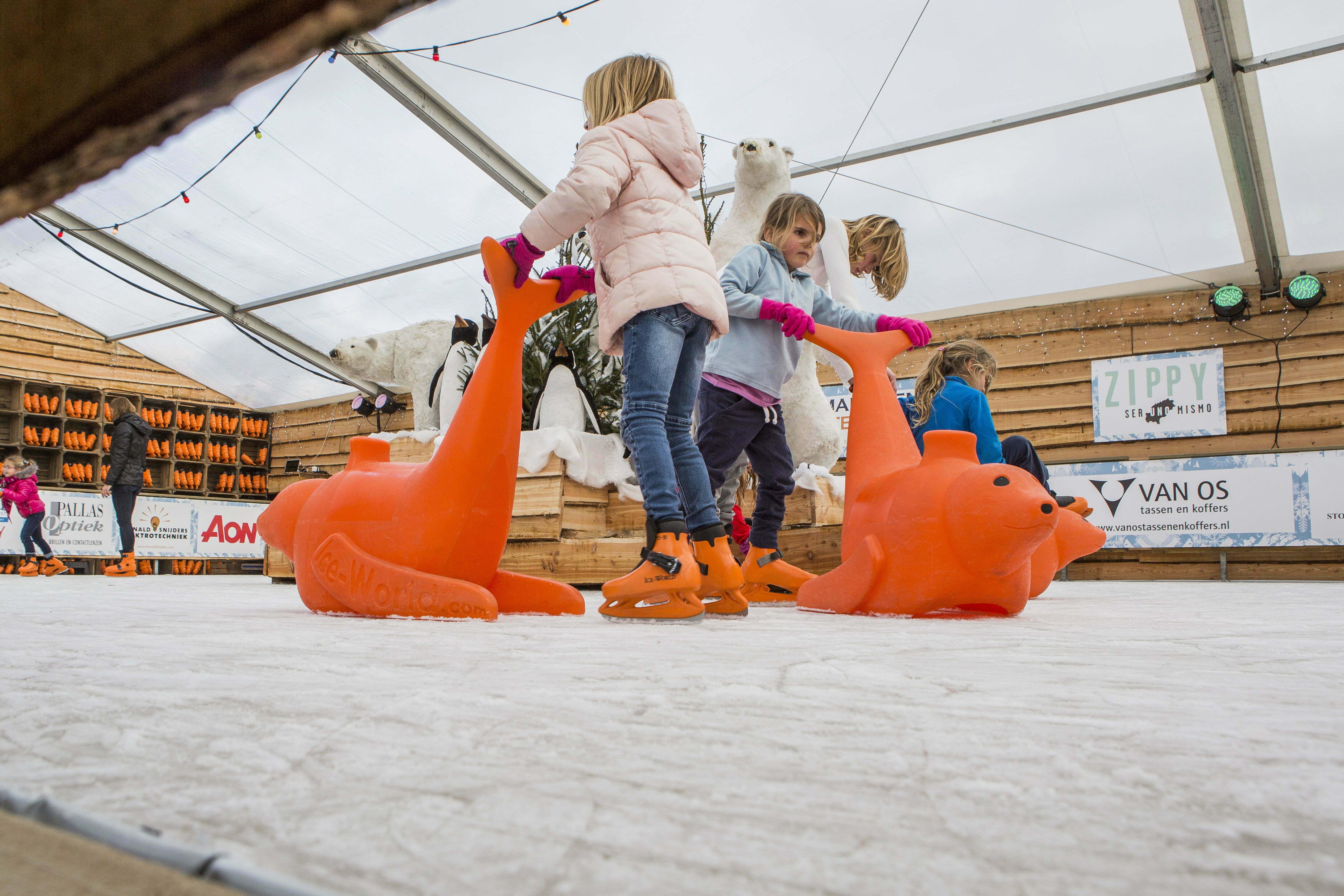Schaatsen Winterwonderland Noordwijk