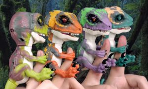 fingerlings dino's
