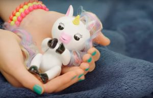 fingerlings unicorn slapen
