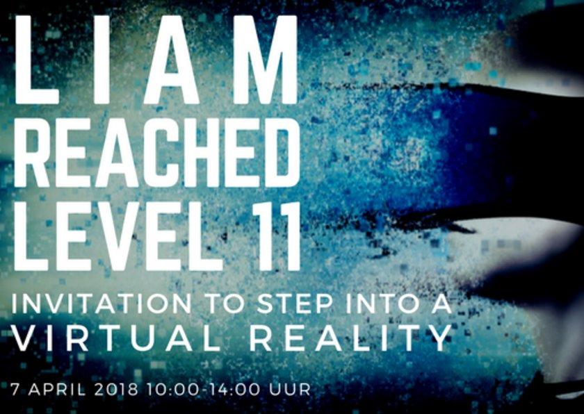 VR Feestje uitnodiging