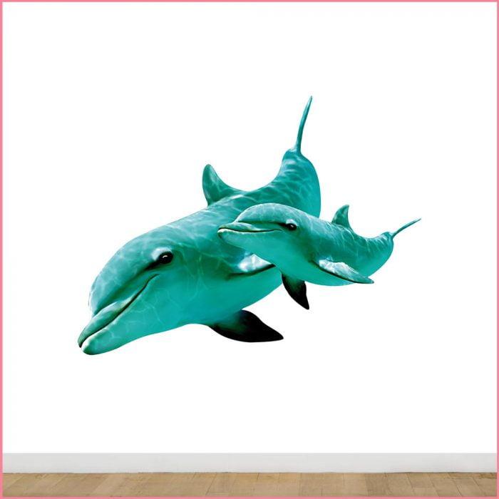 muursticker-dolfijn-700x700