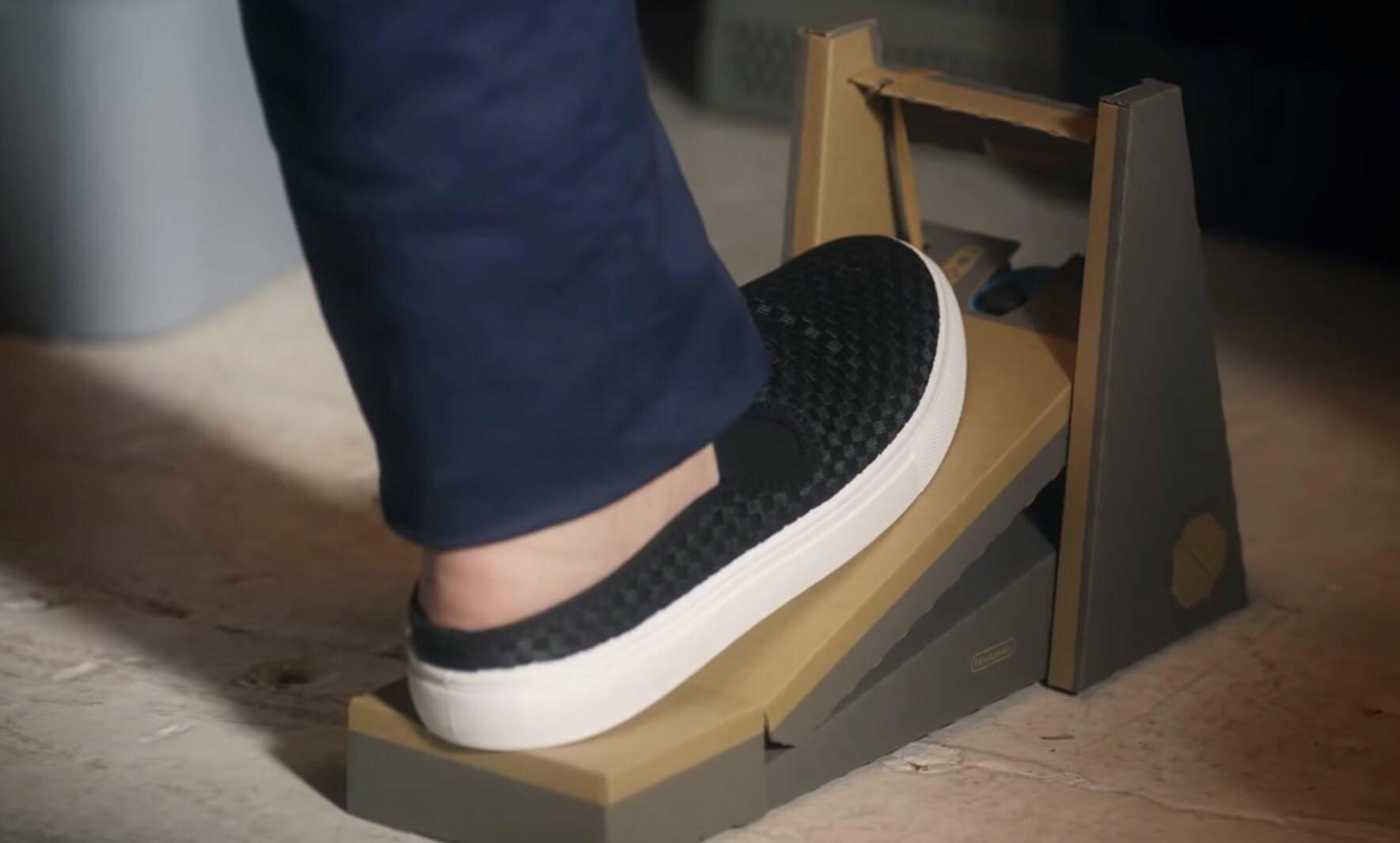 voetpedaal Nintendo Labo voertuigen