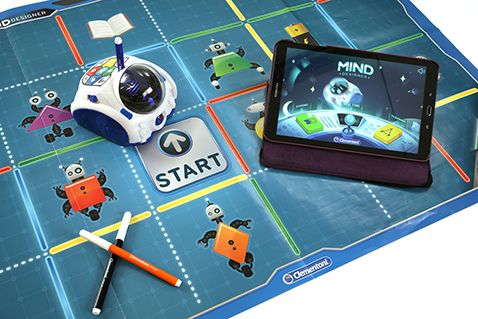 Mind - de pratende educatieve robot