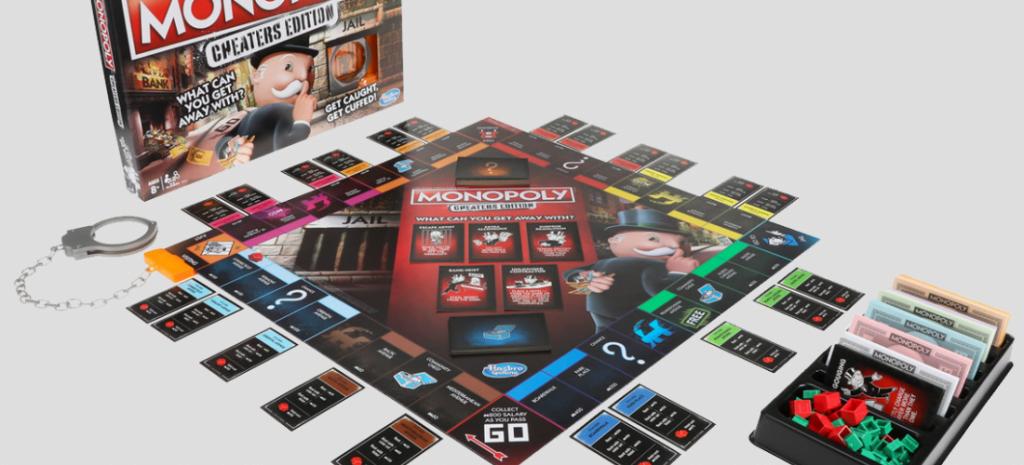 Monopolie valsspelers editie