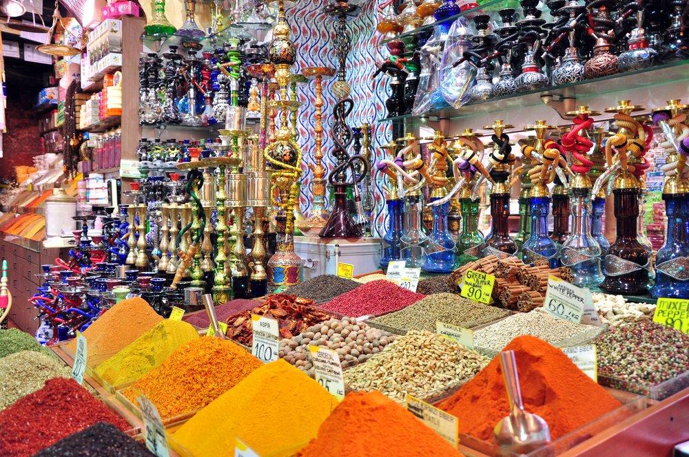 Kruiden bazaar Istanbul