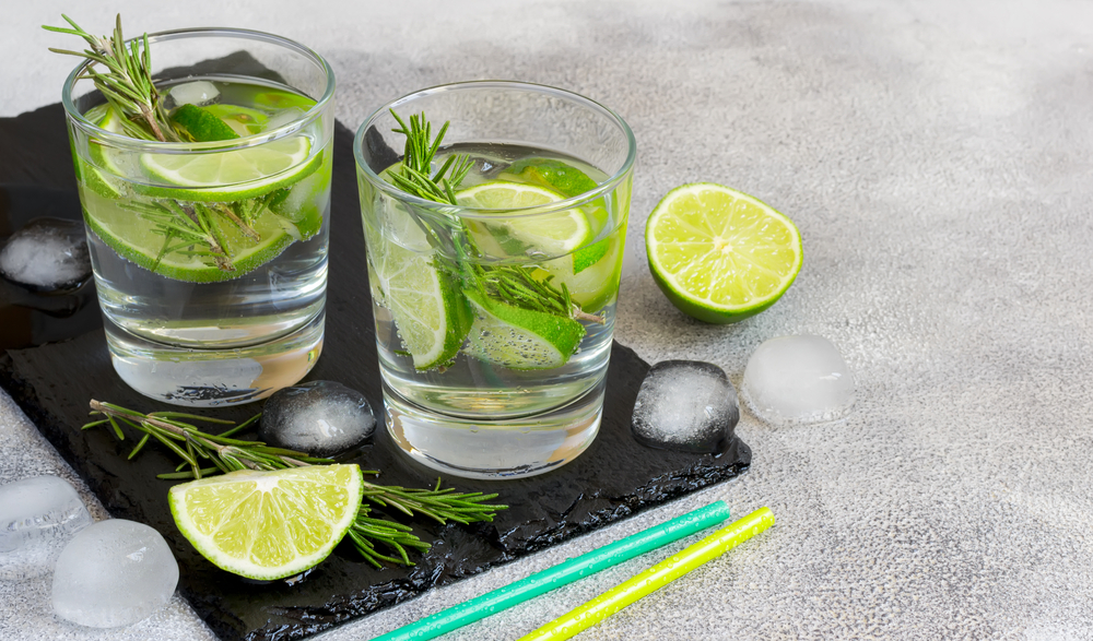 alcohol vrije gin tonic