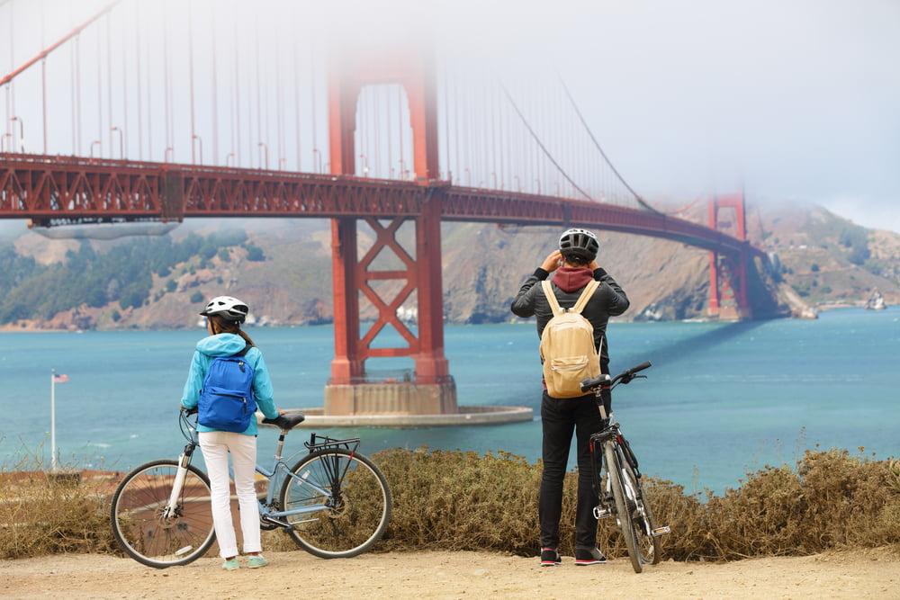 Fietsen Golden Gate Bridge