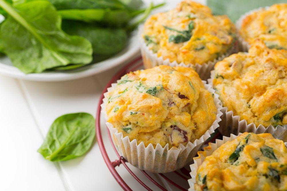 Hartige muffins met verborgen groente
