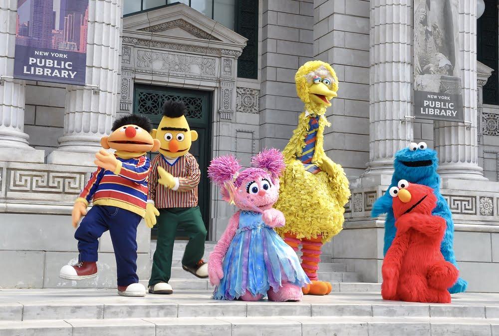 Bert en Ernie een stelletje