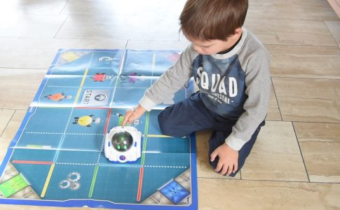 Coderen met Mind Robot