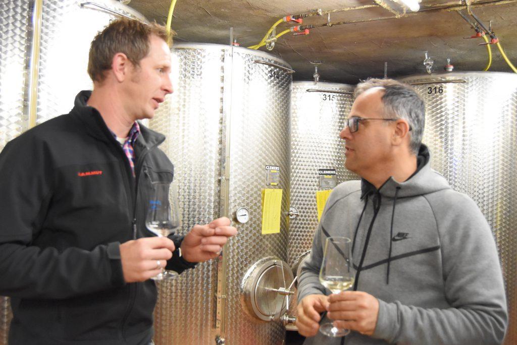 Wijnproeven in het moeselgebied