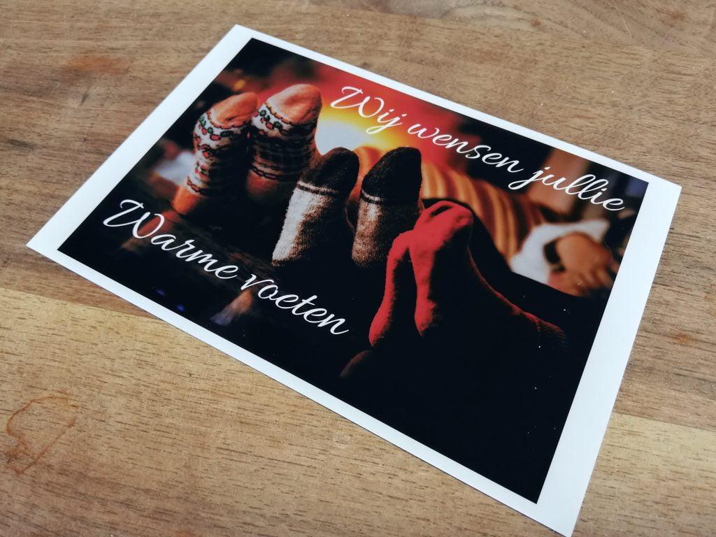 Zelf kerstkaarten printen