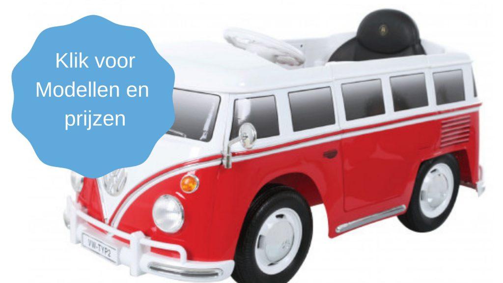 modellen elektrische kinderauto
