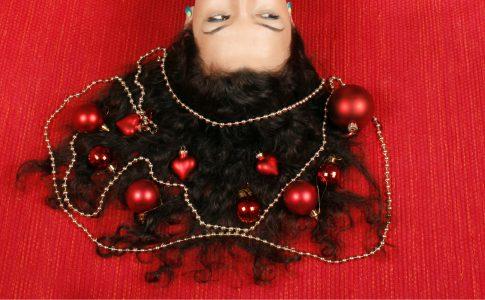 Kerstkapsels voor meisjes